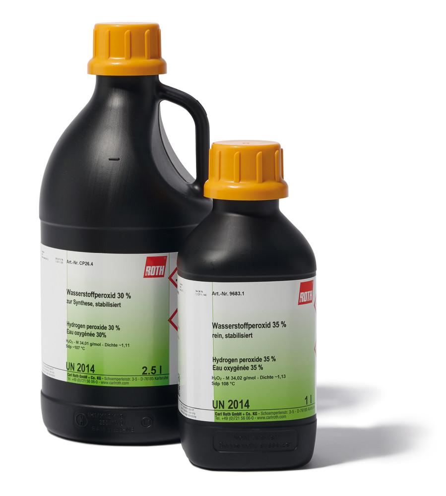 visszérből hidrogén-peroxid