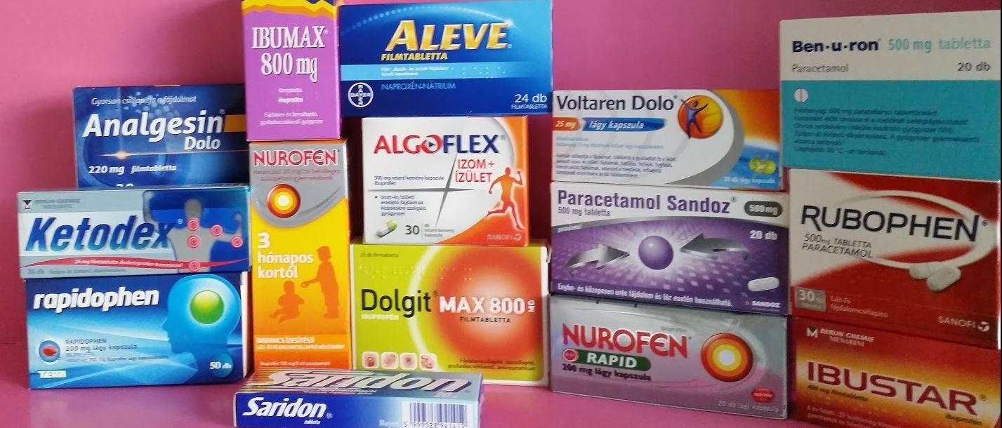 paracetamol visszér ellen