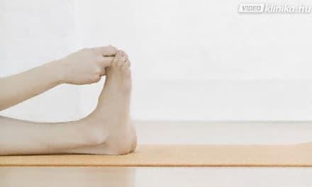 Gyakorlatsor a visszerek a lábakon - Gyakorlatok ülve