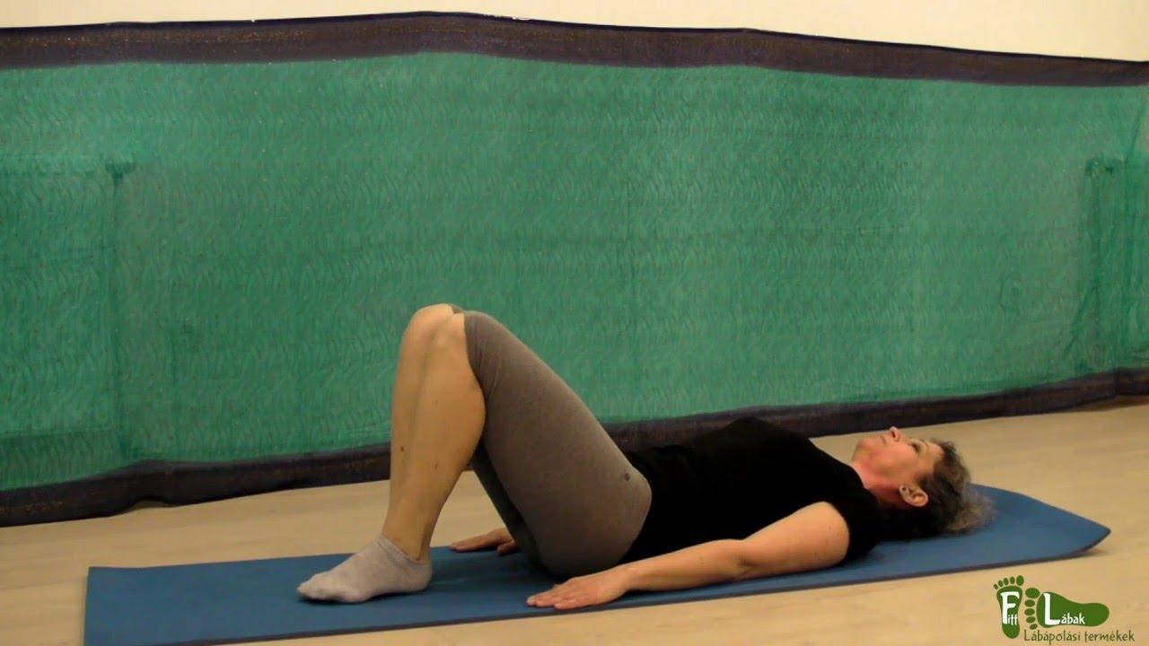 visszér a lábakon gyakorlat videó gyógytorna visszér kezelésére
