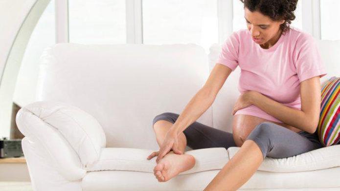 visszerek a lábakon terhesség után