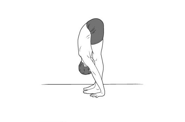 asana a lábak visszérgyulladására