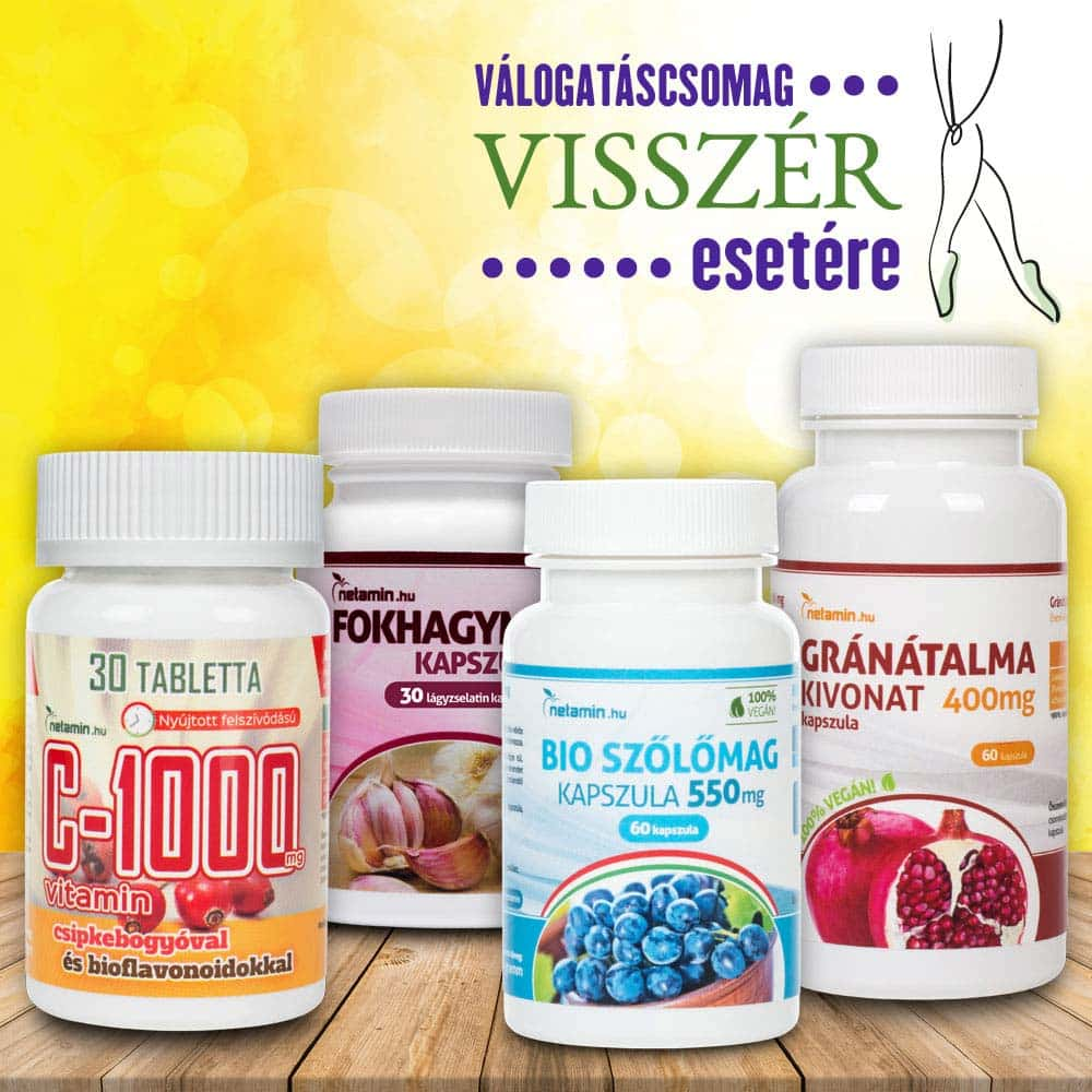 vitamin komplex visszér ellen